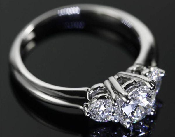 Solitaire Diamond Wedding Rings