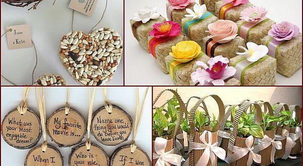 Eco-Friendly wedding favors