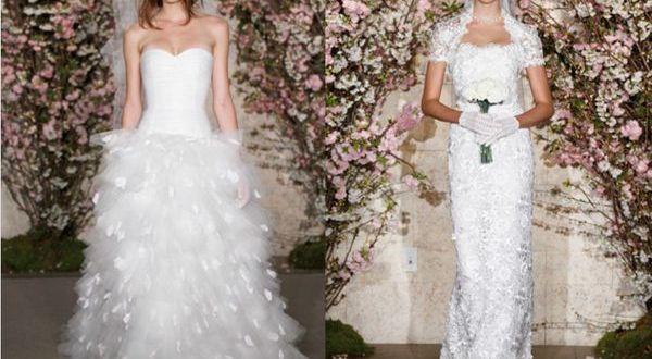 Oscar de la Renta's Spring 2012 Bridal Collection