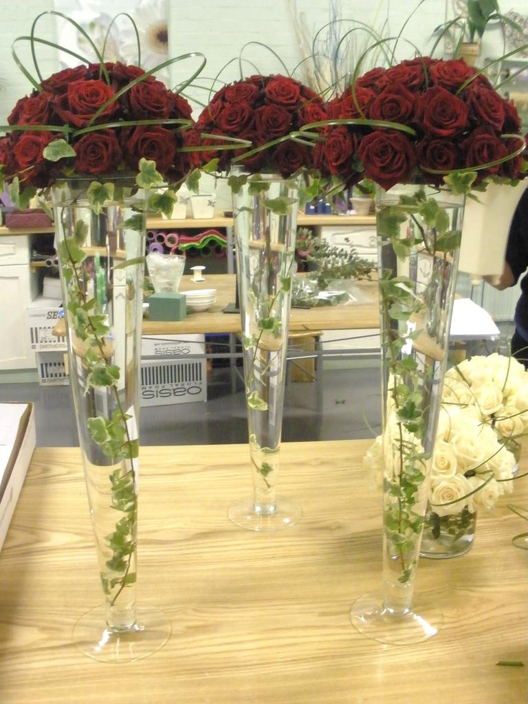 fancy tall flower arrangements wedding vases Fancy tall flower arrangements