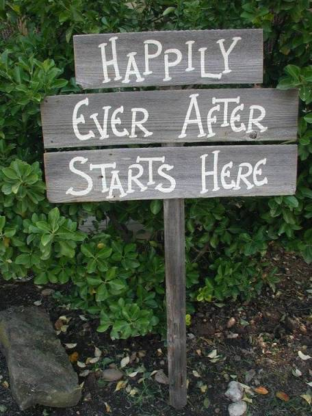 5 Cute Wedding Sign Ideas