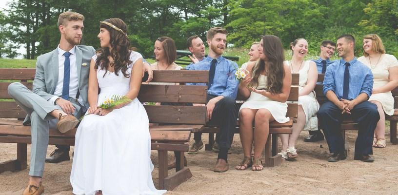 Campground Wedding in Northern Wisconsin