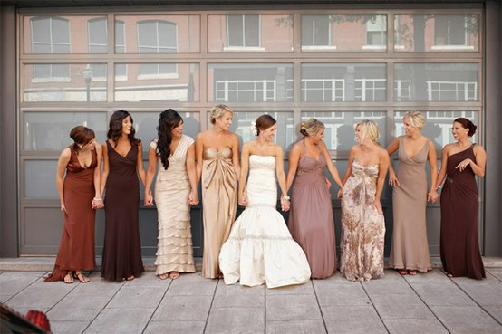 Let the Bridesmaids Choose Their Own Dresses