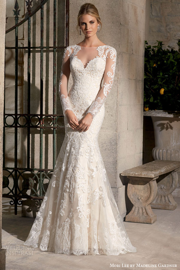 Stunning Wedding Dresses From The Mori Lee by Madeline Gardner Fall ...