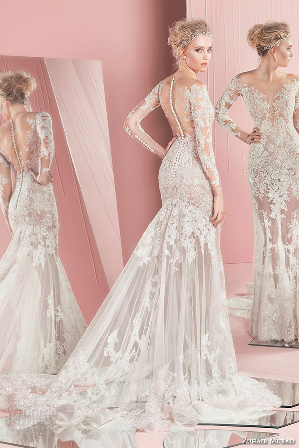 Zuhair murad bridal spring 2016 wedding dresses crazyforus for Zuhair murad used wedding dress
