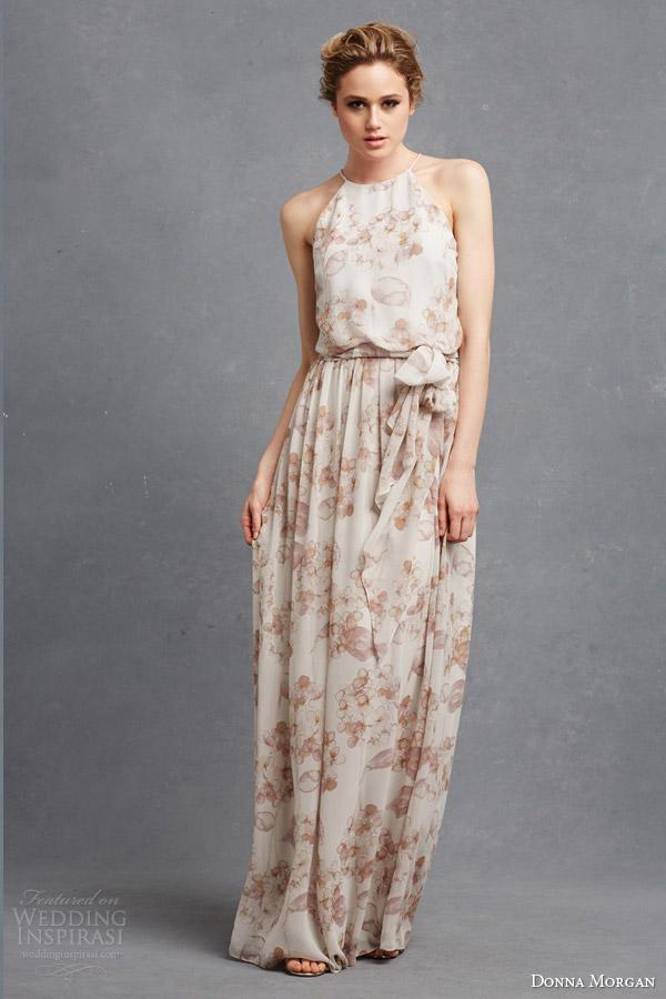 Donna morgan serenity bridal party collection crazyforus for Donna morgan wedding dresses