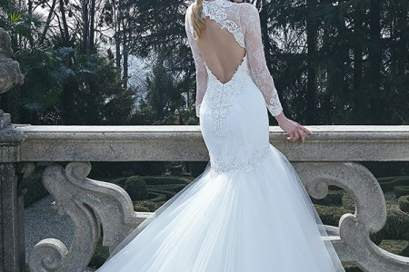 jillian 2016 bridal gowns beautiful long sleeves v neckline mermaid wedding dress style clara