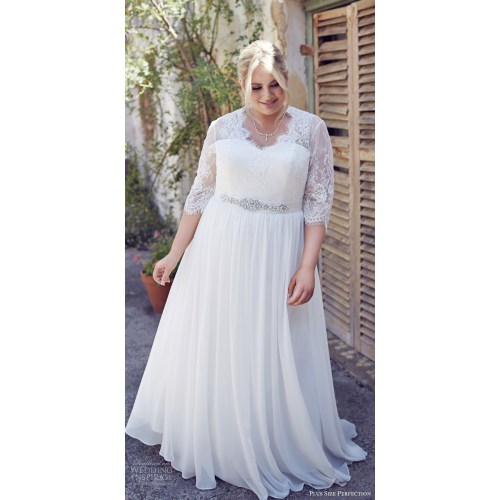 Medium Crop Of Wedding Dress Plus Size