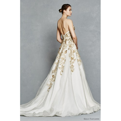 Medium Crop Of Gold Wedding Dresses