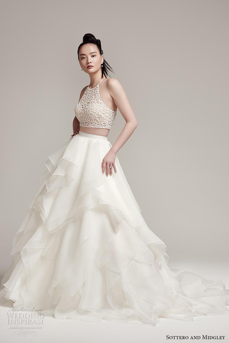 bridal wedding dresses 2 piece wedding dresses Morilee