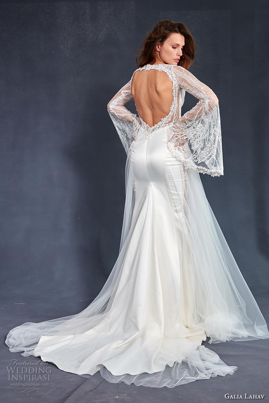 wedding dress styles bell sleeve wedding dress