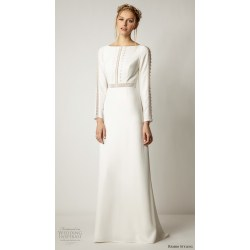 Small Crop Of Simple Wedding Dress