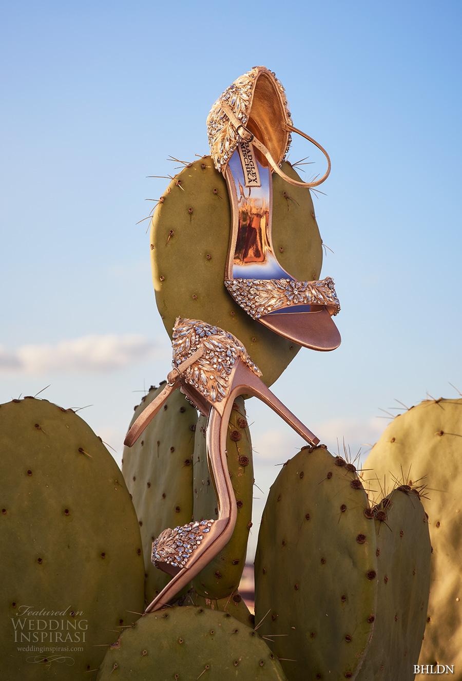 bhldn spring 2017 bridal peep toe crystal beaded strap high heels wedding shoes (dalle) mv