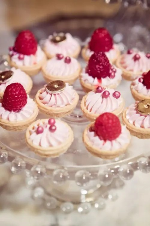 Fruit And Berry Wedding Dessert