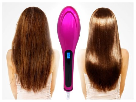 Enter to be one of the winners in the Crystal Digital Hair Straightener Brush #Giveaway before it ends 3/11