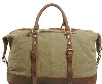 Etasche-Damen-Herren-Vintage-Canvas-Weekender-Tasche-Canvas-Reisetasche-Vintage-Sprottasche-0-3