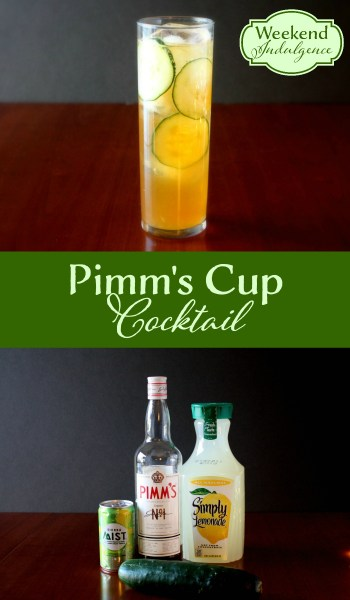 Summertime Cocktail - Pimm's Cup