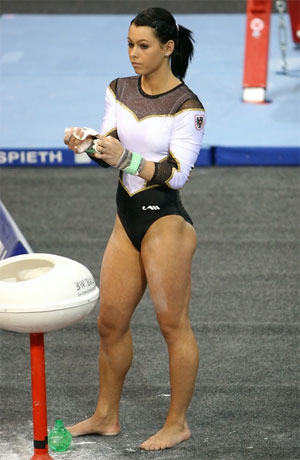 gymnast pussy exposed