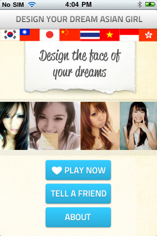 >Creepy Dude Tech: Design your own Asian girl!