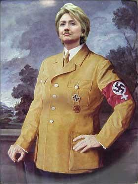 >Heil Hitlary!