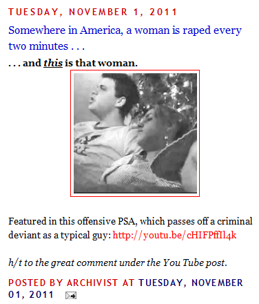 "The False Rape Society: Fighting ""false accusations"" with rape jokes and misinformation"