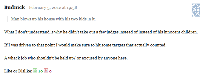 """Spearheader on Josh Powell: """"What I don't understand is why he didn't take out a few judges instead of his innocent children."""""""