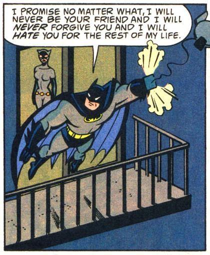 Batman and cats, man