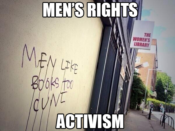Real-World Man-activism: The photographic evidence