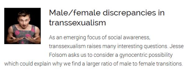 Men in dresses: How A Voice for Men sees trans women