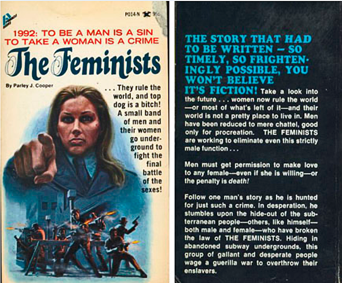 The Feminists: A story so frighteningly impossible, you won't believe it wasn't collectively written by the Men's Rights subreddit
