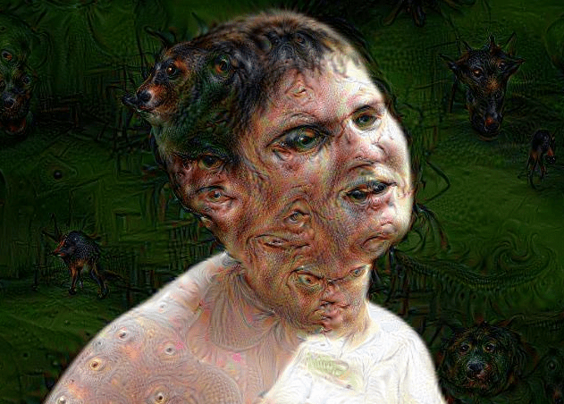 Face in a Cloud: How ideologues are like Google's Deep Dream neural networks