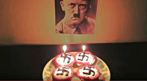 Yes, she really did bake cupcakes for Hitler