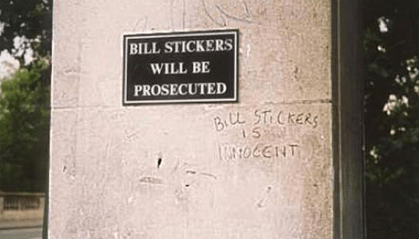 """Alt-right """"street artists"""" will never match the brilliance of this bit of graffiti"""
