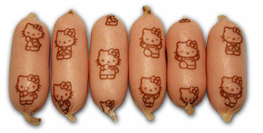 hello-kitty-sausages