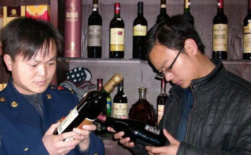fake7 wine 500x309 The 9 Most Controversial Food Scandals in China picture