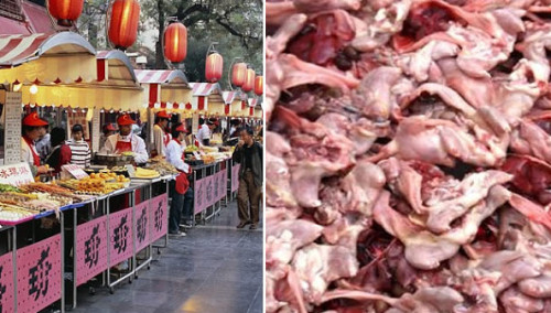 fake8 meat 500x284 The 9 Most Controversial Food Scandals in China picture