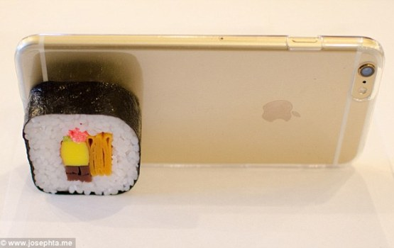 Sushi-Themed Phone Cases Taking Japan By Storm