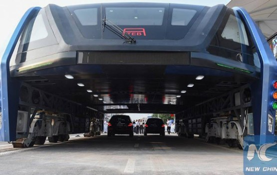 Chinese Straddling Bus May Be Gigantic Ponzi Scheme