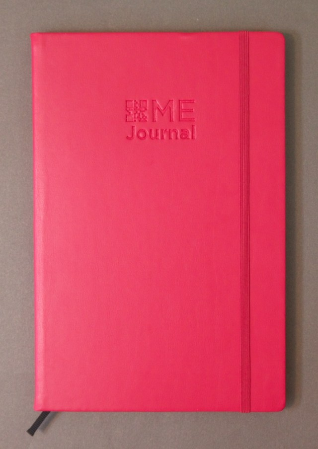 ME Journal from Quo Vadis hot pink cover