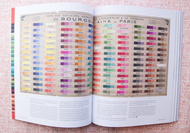 Uppercase Color Swatches