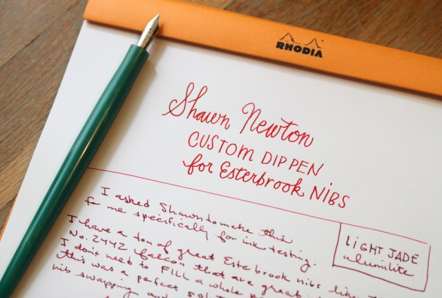 Shawn Newton Custom Nib Holder