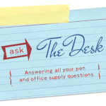 Ask The Desk: Tot Staples & MAGIC Erasers & Pens for the Signo 151
