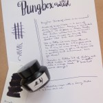 Ink Review: BungBox Ink of Witch