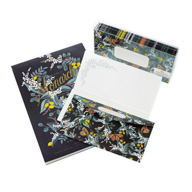 Rifle Paper Co. Monarch Writing Pad and Envelopes