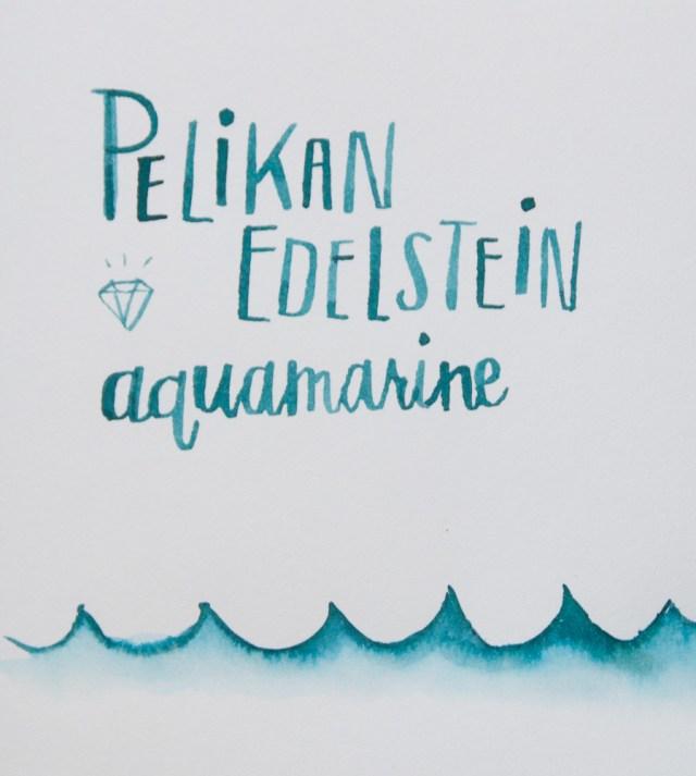 Pelikan Edelstein Aquamarine ink