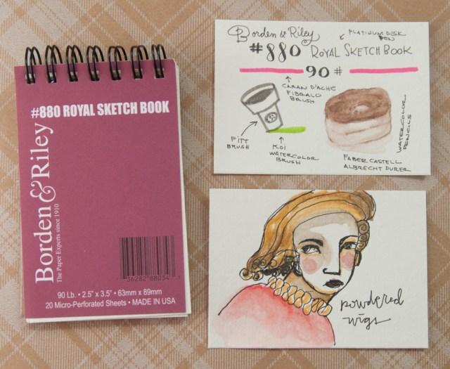 Borden & Riley Royal Sketchbook