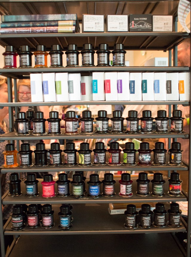 Vanness Pens Wall of Ink