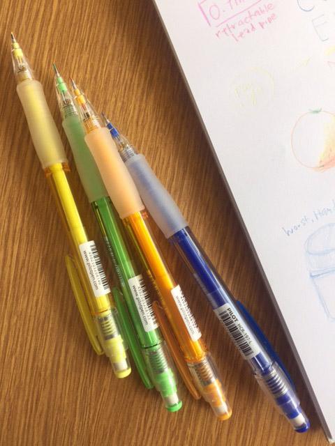 Pilot Color Eno Colored Pencils: Not So Good Colors