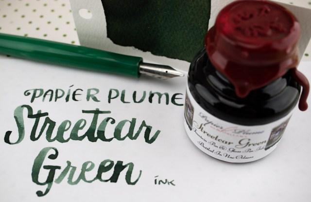 Papier Plume Streetcar Green