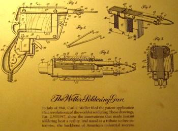 Weller soldering gun